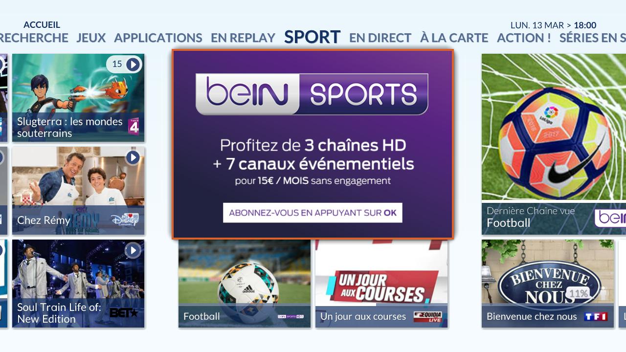 Ou Sports €mois Abonnements Bein Connect 15 Tv Dès 9e2YWDEHI