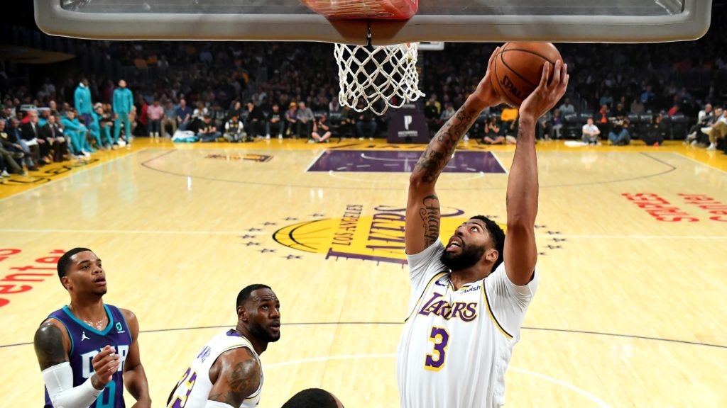 Nba Charlotte Hornets At Los Angeles Lakers